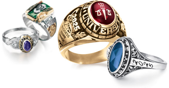 High school class rings and graduation supplies throughout Northern California.