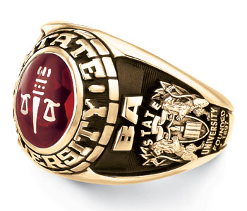 College Of Holy Cross Ring