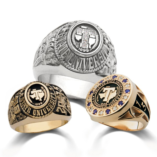 Texas State University College Graduation Ring