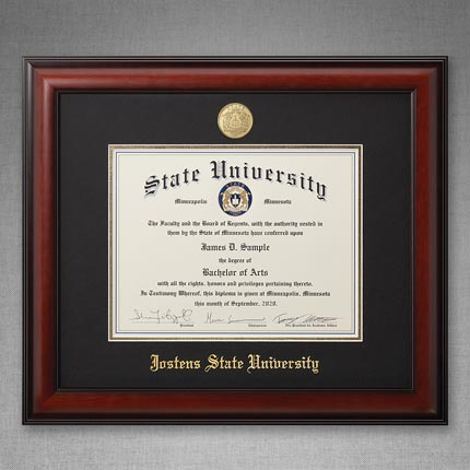 Meridian Diploma Frame - Single