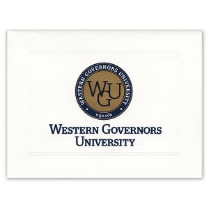 Western governors university salt lake city ut graduation personalized announcements 5000 yadclub Choice Image