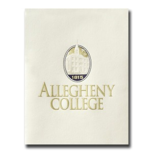 Allegheny college meadville pa graduation announcements personalized announcements 5375 yadclub Choice Image