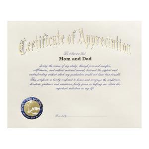 Boise state university boise id graduation announcements certificate of appreciation 1650 yadclub Choice Image