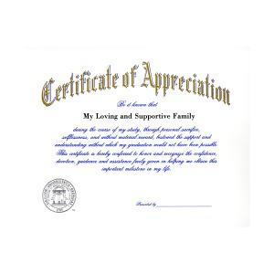 University of georgia athens ga graduation announcements certificate of appreciation 1900 yadclub Choice Image