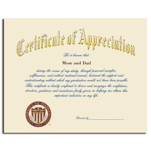 Certificate of appreciation jostens choice image certificate other gallery of certificate of appreciation jostens yadclub Choice Image