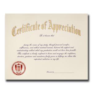 University of arkansas fayetteville ar graduation announcements certificate of appreciation 1843 yadclub Choice Image