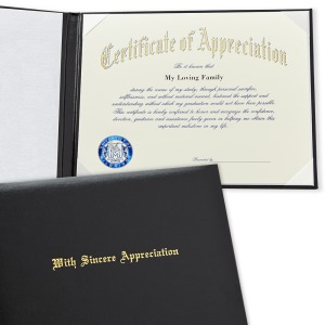 University of new mexico albuquerque nm graduation certificate of appreciation with cover 2065 yadclub Choice Image