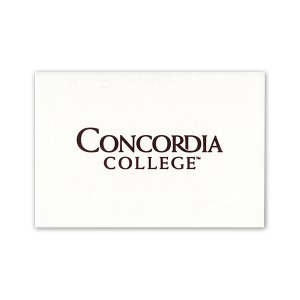 Concordia college moorhead mn graduation announcements products custom seal notecards 1820 certificate of appreciation yadclub Choice Image