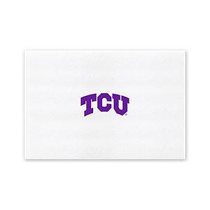 Texas christian university fort worth tx graduation custom seal notecards 2055 certificate of appreciation yadclub Choice Image