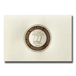 Baldwin wallace university berea oh graduation announcements custom seal notecards 1635 certificate of appreciation yadclub Choice Image