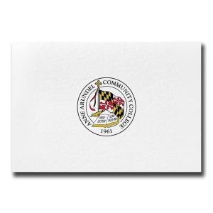 Anne arundel community college arnold md graduation custom seal notecards 1635 certificate of appreciation yadclub Choice Image