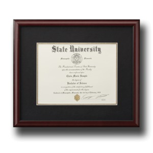 Excelsior college albany ny graduation announcements products diploma frame 9925 yadclub Choice Image