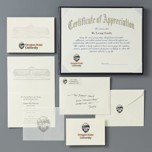 Oregon state university corvallis or graduation announcements deluxe package yadclub Choice Image