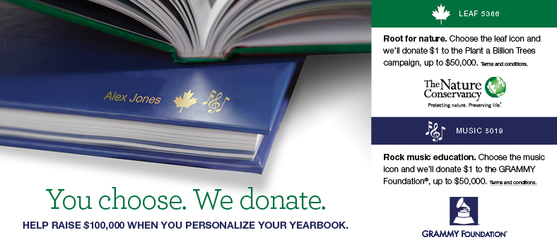 You choose. We donate.