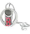 Boston Red Sox Eternity Necklace