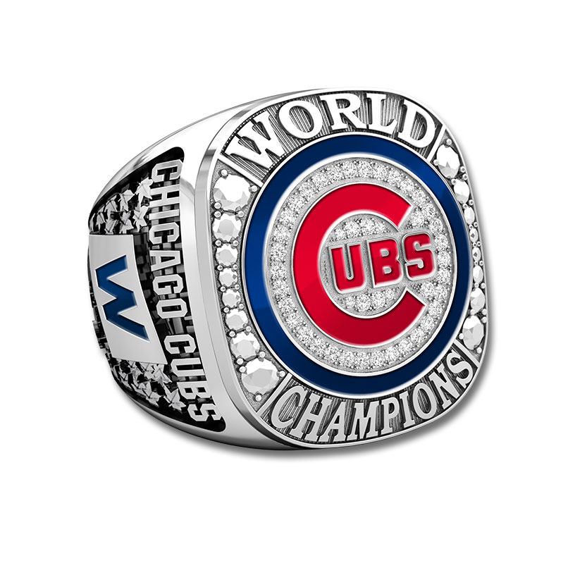 Chicago Cubs Chicago Cubs Fan Collection - Championship Ring
