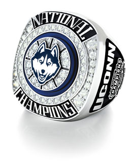 Jostens University of Connecticut 2014 basketball championship ring