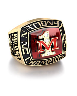 Jostens University of Maryland 2002 basketball championship ring