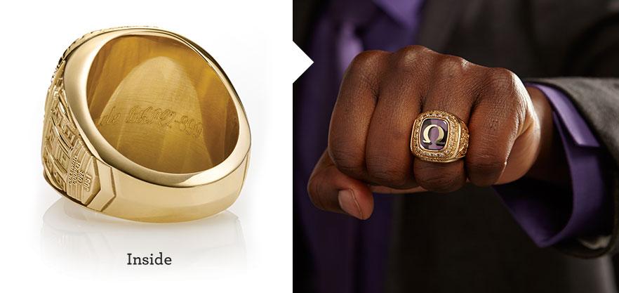 Omega Psi Phi Membership Ring