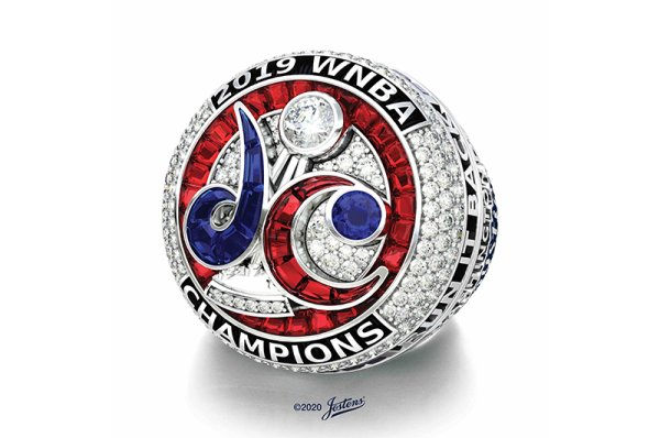 Jostens creates 2019 WNBA Championship Ring for the Washington Mystics
