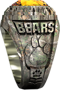 Ring in CamoCast™ Metal