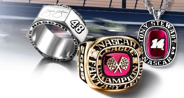NASCAR® Championship rings put your passion in pole position