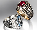 Personalized Boy Scouts of America® High School Class Rings