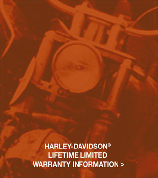 Harley-Davidson Lifetime Limited Warranty Information