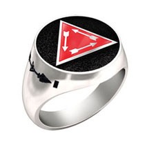 Order of the Arrow® Vigil Honor Ring (White)