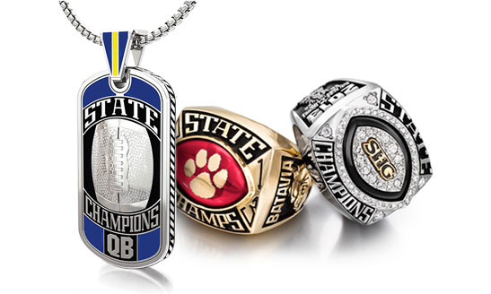 High School Championship Rings