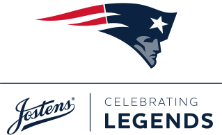 New England Patriots Jostens Celebrating Champions Logo
