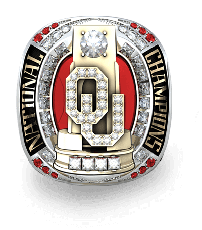 University Of Oklahoma Men S Gymnastics National Championship Ring